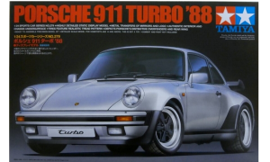 1:24 Scale Tamiya Porsche 911 Turbo 1988 Model Car Kit by Tamiya #1487