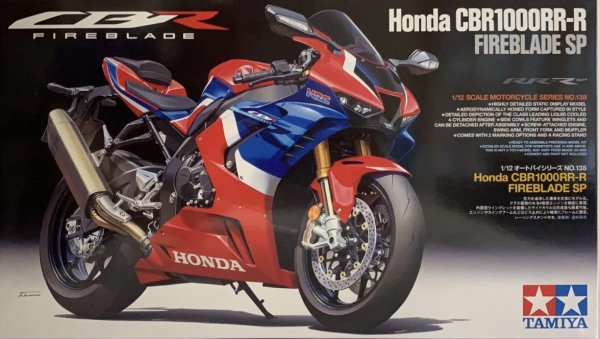 1:12 Honda CBR1000 RR-R Fireblade SP Model Bike Kit #1494