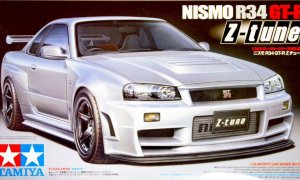 1:24 Nissan Skyline R34 Z Tune GTR Model Car Kit by Tamiya #