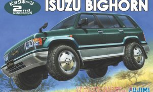 1:24 Scale Fujimi Isuzu Bighorn / Trooper Car Model Car Kit #588p