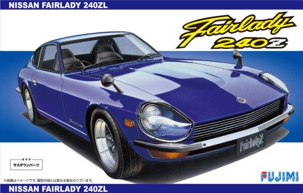 1:24 Scale Fujimi Datsun 240Z L Car Model Car Kit #