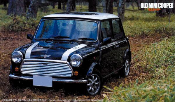 1:24 Scale Fujimi Old Mini Cooper Car Model Car Kit #770p