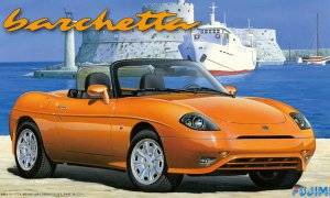 1:24 Scale Fujimi Fiat Barchetta Model Car Kit #