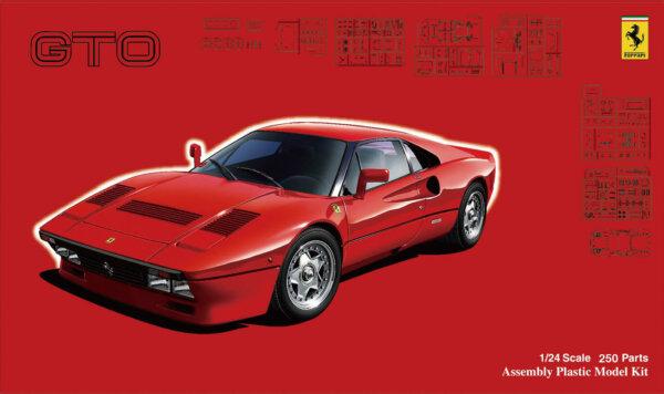 1:24 Scale Fujimi Ferrari 288 GTO Model Car Kit #867p