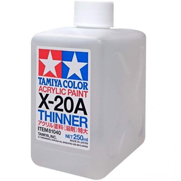 Tamiya Paint Thinner 250ml Bottle