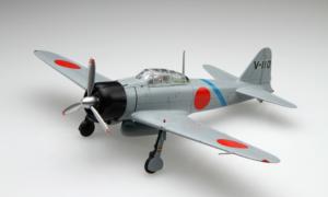 1:48 Scale Fujimi Zero Fighter Mitsubishi A6M2 Model Aircraft Kit #