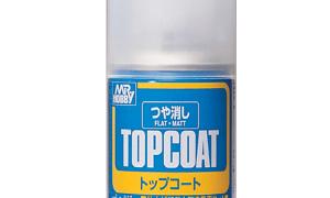 Mr Hobby Top Coat Flat Spray Paint #