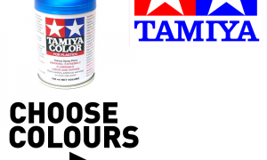 Tamiya Spray Paint - Huge Colour Range - Choose Colours