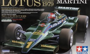 1:20 Scale Lotus F1 Typee 79 Martini F1 Model Car Kit #