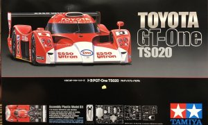 Tamiya Toyota GT One TS020 Racing Car Model Kit #1521