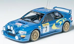 1:24 Scale Subaru Impreza GC8 Monte Carlo 98 WRC Rally Model Kit #1501