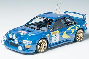 1:24 Scale Subaru Impreza GC8 Monte Carlo 98 WRC Rally Model Kit #1501
