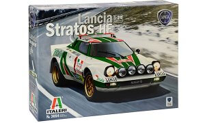1:24 Scale Lancia Stratos HF Model Car Kit  #1506
