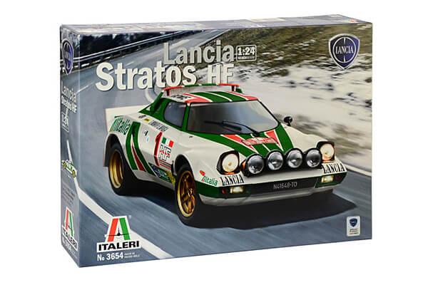 1:24 Scale Lancia Stratos HF Model Car Kit #1506