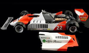 1:12 Scale Alfa Romeo 179 F1 Model Car Kit  #1508