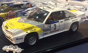1:24 Scale Opel Manta 400 Group B Frequelin Rally Car Model Kit#1509