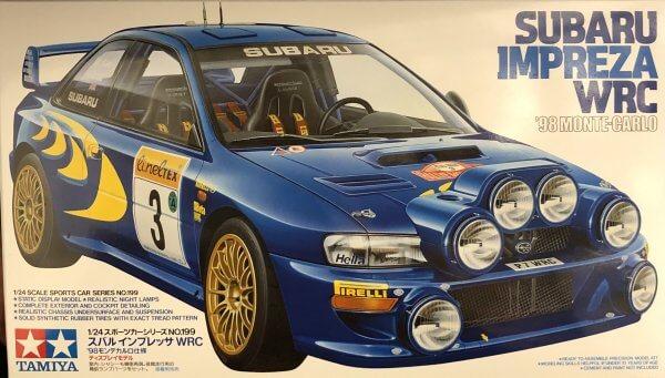 1:24 Scale Subaru Impreza GC8 Monte Carlo 98 WRC Rally Model Kit #1501p