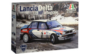 1:24 Scale Lancia HF Integrale Model Car Kit  #1479A