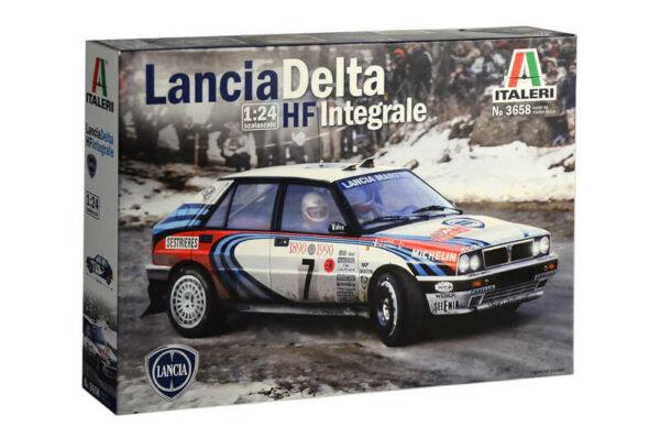 1:24 Scale Lancia HF Integrale Model Car Kit  #1479A