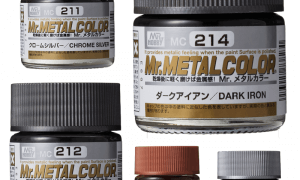 Mr Hobby Mr Metal Color Paints - Choose Colours