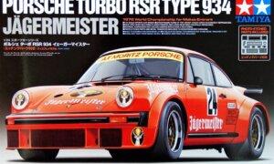 1:24 Scale Tamiya Porsche RSR 934 Jägermeister Model Kit #1502