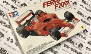 1:20 Scale Tamiya Ferrari F1-2001 Vintage Retro NOS Model Car Kit #IG16
