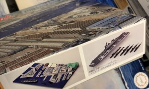 1:3000 Scale United States Fleet Activities Yokosuka Scene Model Kit No.05a #