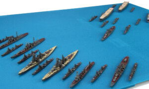 1:3000 Scale Fujimi Battle Of Santa Cruz Islands Set Model Kit No.16#1597P