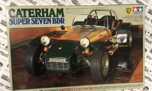 1:12 BIG Scale Tamiya Caterham Super 7 Masters Coachwork Vintage NOS Model Car Kit #IG17