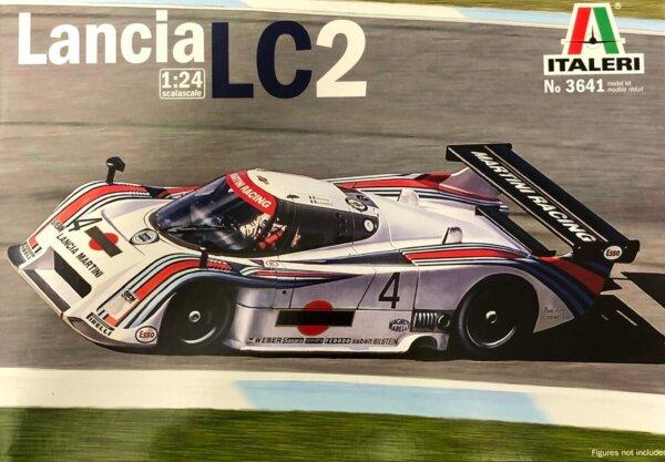 1:24 Scale Lancia LC2 Martini Race Model Car Kit #