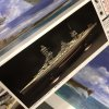 1:350 Scale Imperial Navy Battleship FUSO Model Kit #p