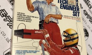 1:20 Scale Tamiya Vintage Motor Racing Team Kit - Driver & Techinal Engineer NOS #IG04