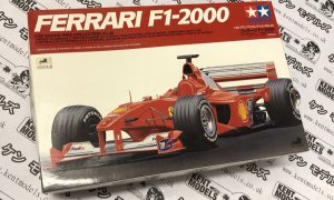 1:20 Scale Tamiya Ferrari F1-2000 Vintage Retro NOS Model Car Kit #IG15