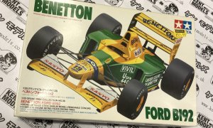 1:20 Scale Tamiya Benetton Ford B192 Vintage Retro NOS Model Car Kit #IG11