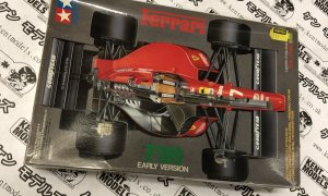 1:20 Scale Tamiya Ferrari F189 Early Version Vintage Retro NOS Model Car Kit #IG13