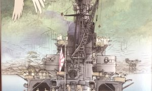 1:3000 Scale Kure Naval Port Scene Model Kit No.03 EX-2 #