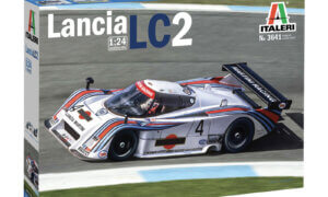 1:24 Scale Lancia LC2 Martini Race Model Car Kit  #
