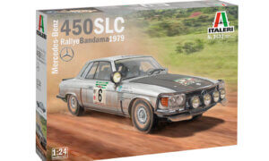 1:24 Scale Italeri Mercedes 450 SLC Rally Bandama 1979 Model Car Kit  #