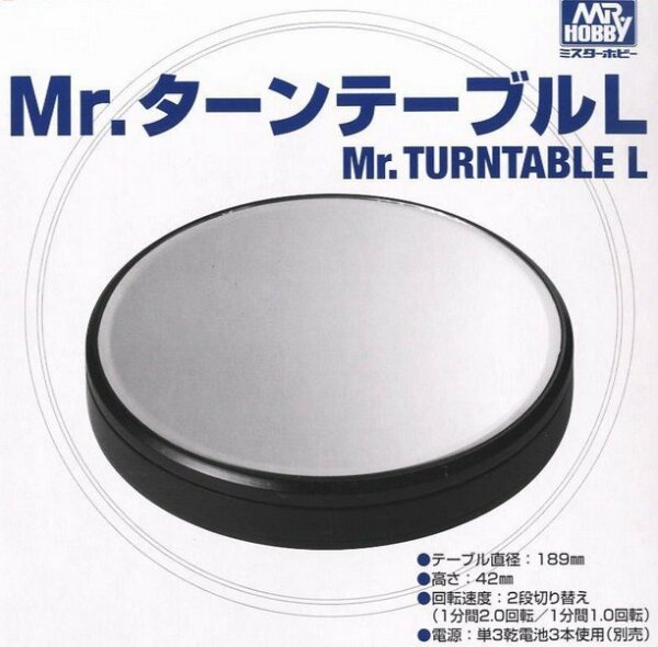 Mr Hobby Mr Turntable Motorised Mirror Display Plinth #2132