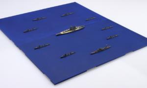 1:3000 Scale Fujimi Operation Ten Ichigo The First Guerilla Forces Set Model Kit No.8 #1615P