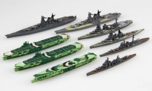 1:3000 Scale Fujimi Kure Naval Port Set Model Kit No.03 EX1 #1598P