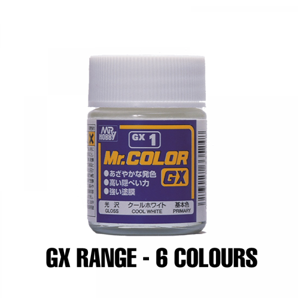 Mr Hobby GX Paint Range - Choose Colour Option