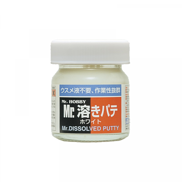 Mr Hobby Mr Dissolved Putty Jar For Making Model Kits