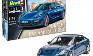 1:24 Scale Revell Porsche Panamera 2 Model Car Kit #1544