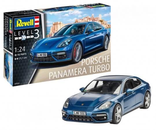 1:24 Scale Revell Porsche Panamera 2 Model Car Kit #1544