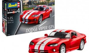 1:25 Scale Revell Dodge Viper GTS Model Car Kit #1546