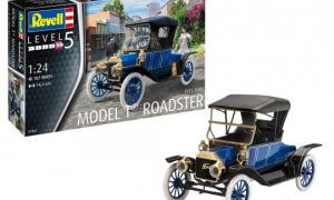 1:24 Scale Revell Ford Model T Roadster 1913 Model Car Kit #1548