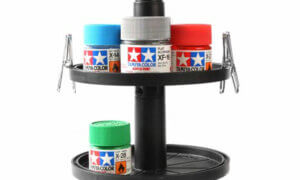 Tamiya Paint Pot Rotating Stand Set #1589