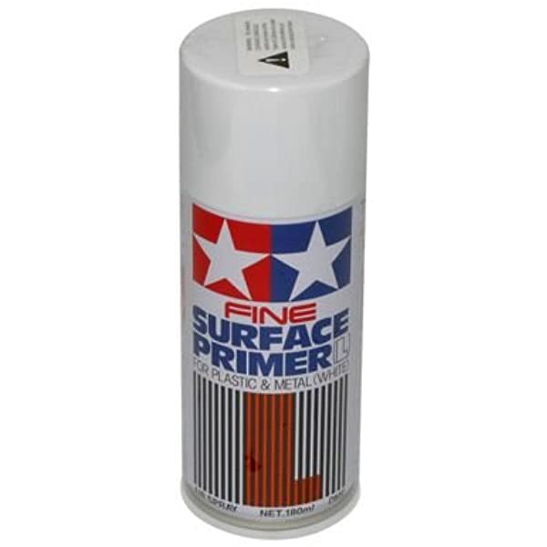 Tamiya Surface Primer Spray Can: Choose Colour