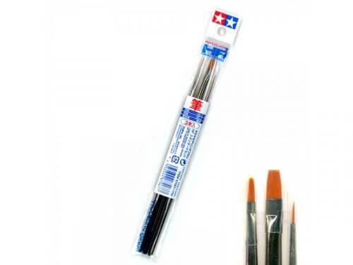 Tamiya Brush Model Set - 3 Pack Standard Type #1588
